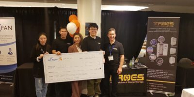 "TROES Corp. wins the 1st prize in the ""Made In York Region"" Competition"