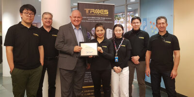TROES Welcomes the Mayor of the City of Markham, Hon. Frank Scarpitti