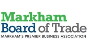 The logo for Markham Board of Trade, one of TROES' affiliations