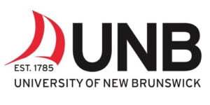 The logo for University of New Brunswick, one of TROES' affiliations