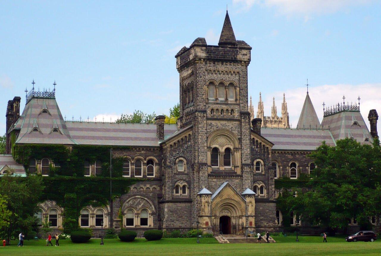 The main campus for University of Toronto, universities using battery energy peak shaving