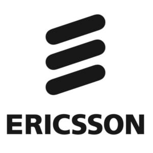 The logo for Ericcson, one of TROES' affiliations