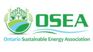 The logo for Ontario Sustainable Energy Association, one of TROES' affiliations