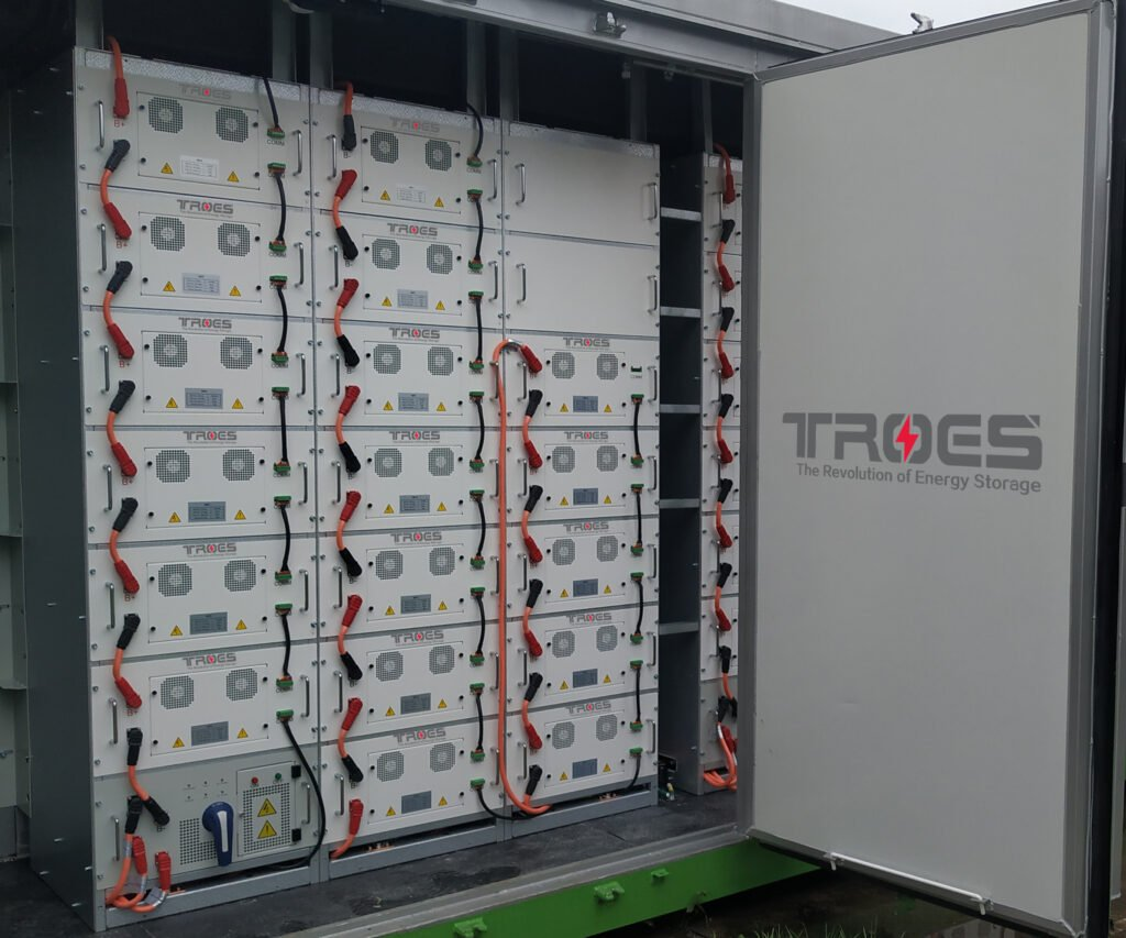Inside of the Nova Scotia battery packs