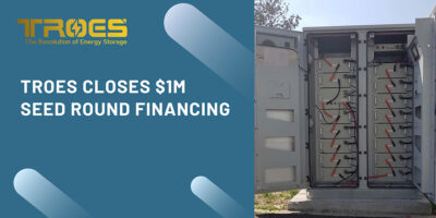 TROES Closes $1M Seed Round Financing