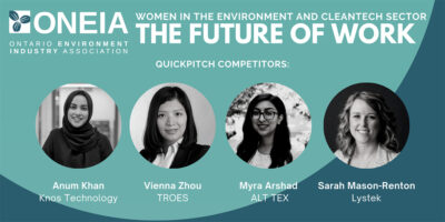 TROES' CEO Vienna Zhou Highlighted in ONEIA's Women in the Environment and Cleantech Sector Forum
