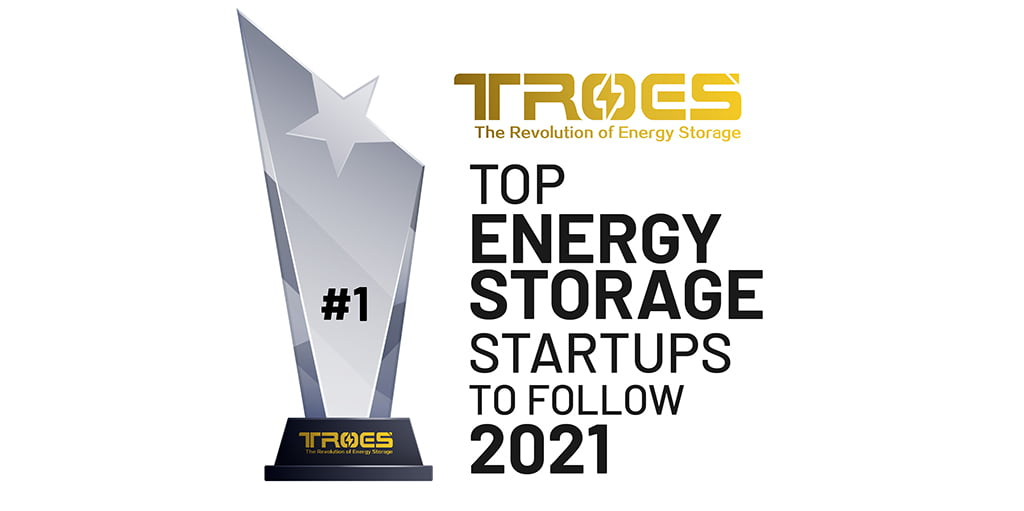 Troes rated top energy storage startup in 2021