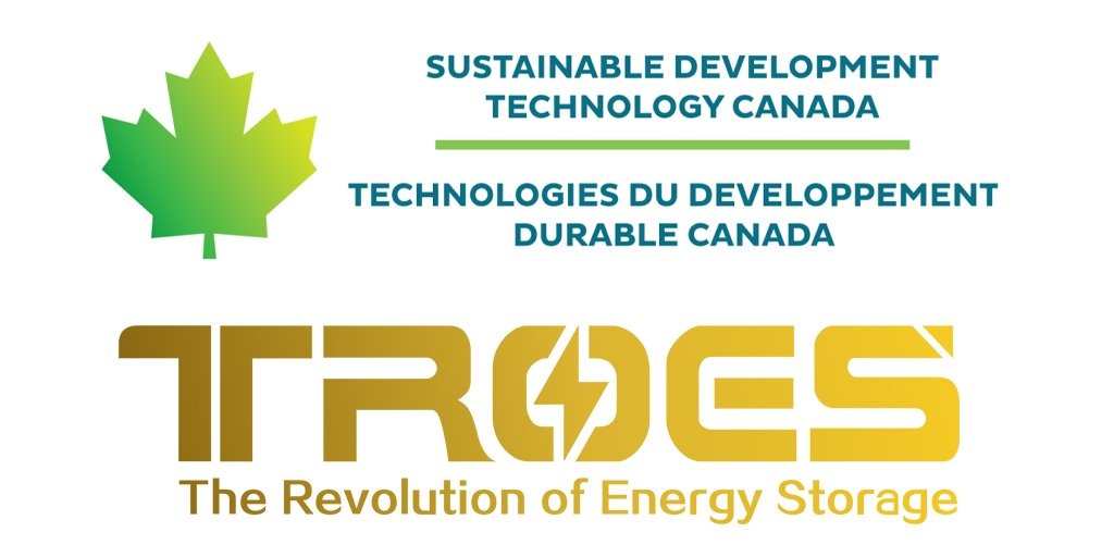 TROES and Sustainable Development Technology Canada logos